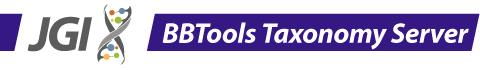 BBTools Taxonomy Server Logo